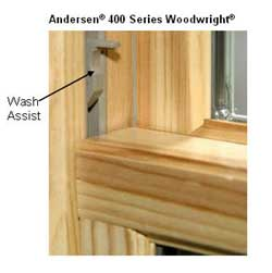 How to get fresh air and secure windows at the same time for Wood double hung andersen 400 series