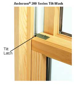 200 Series Tilt Wash Double Hung Window