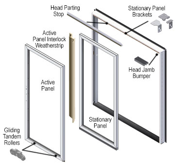 200 series perma shield gliding door - Sliding Patio Door Replacement