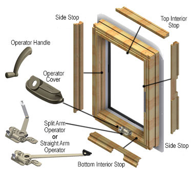 Andersen 400 Series Casement Window Zef Jam